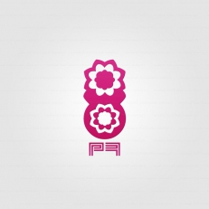 andre_couturier_maitret_logos_pinky-flower