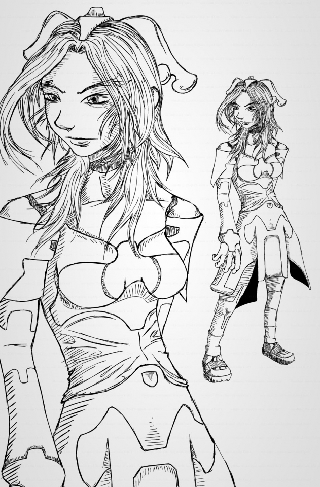 andre_couturier_maitret_scigirl-sketch